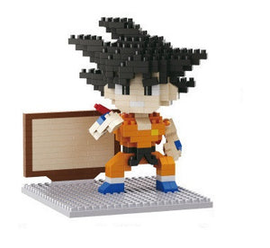 Mini Dragon Ball blocks action model