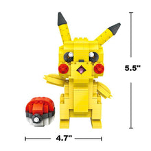 Pikachu & Pokeball Mini Blocks