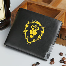 World Of Warcraft Wallet Leather Wallet