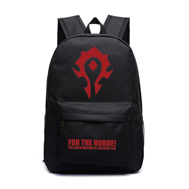World Of Warcraft Backpack Horde