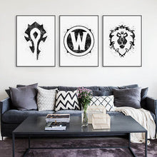 World Of Warcraft Wall Watercolor Canvas