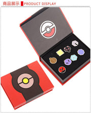 Pokemon Go Badge Brooch 8 Pcs/sets