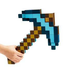 2 in 1 Minecraft Diamond Sword and Pick Axe