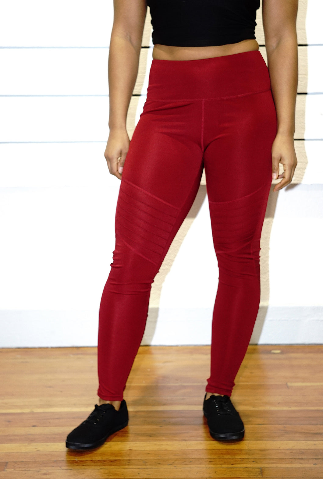 Crimson leggings