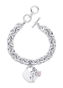 HARLEY-DAVIDSON BRACELET-LOCK AND SHIELD WOMENS
