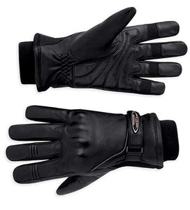 Harley-Davidson leather FXRG gloves women's black