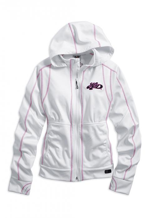 Harley-Davidson jacket-exhilerate RCS softshell women's white