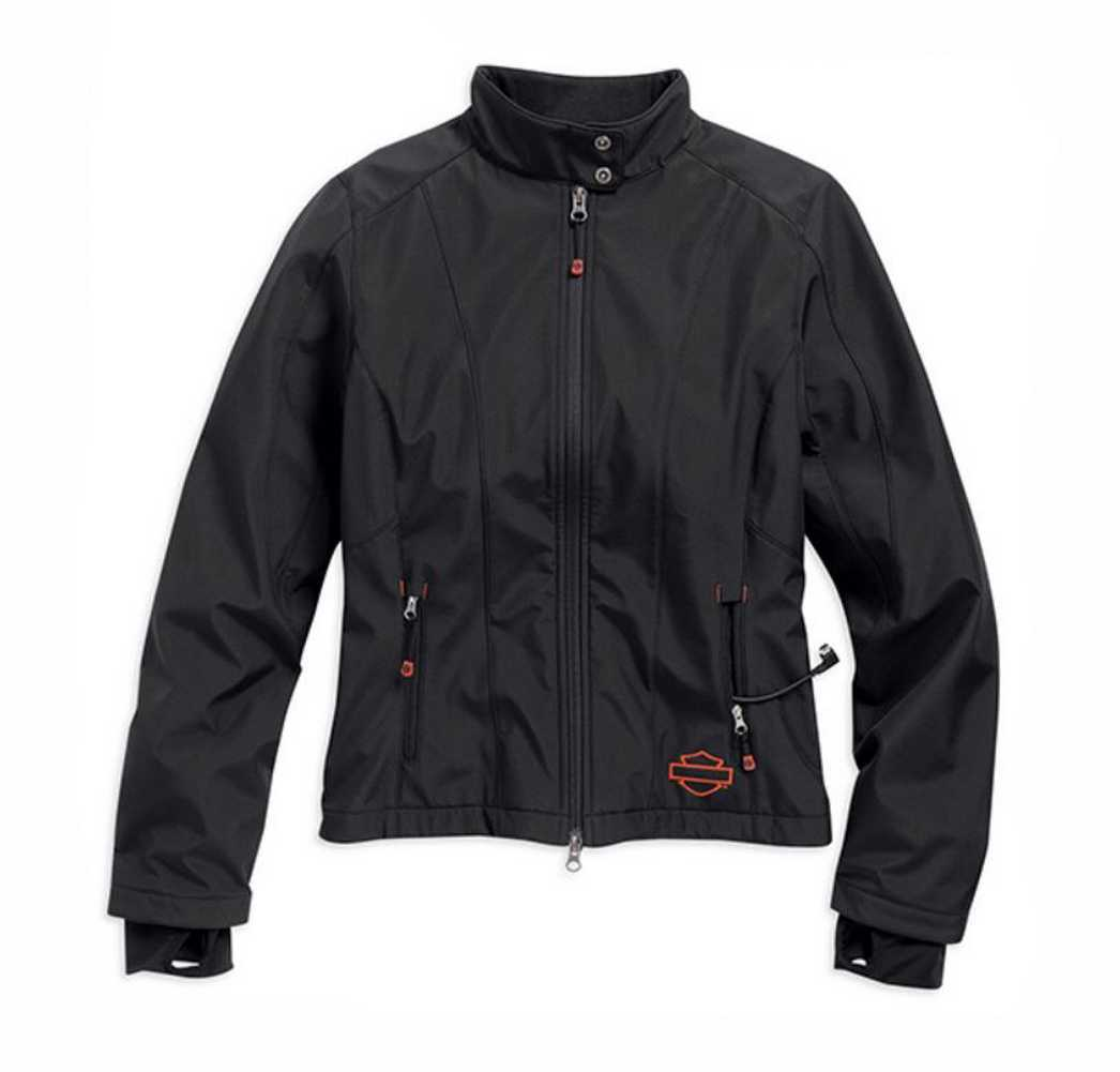 Harley-Davidson jacket heated soft shell women's black