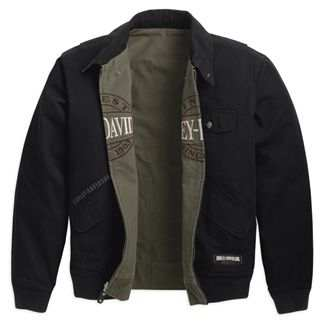 Harley-Davidson annex reversible bomber jacket men's black