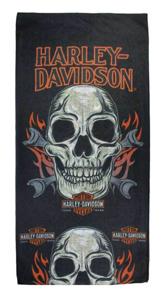 Harley-Davidson Multifonctional headwear, skull-mouth sublimated double layer