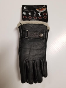 Harley-Davidson dispatch full-finger gloves mens black