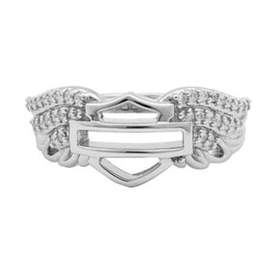 HARLEY-DAVIDSON HD BLING WING BAND RING