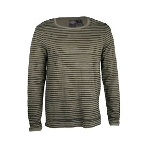 Harley-Davidson striped skull knit shirt men's