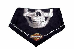 Harley-Davidson 3 in 1 convertible, bandana, deadly jaw sublimated