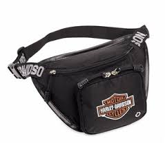 Harley-Davidson logo belt bag