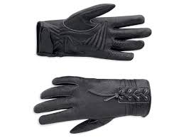 Harley-Davidson glove-cambria ,leather FF women's black