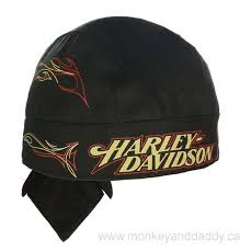 Harley-Davidson headwrap tanked black