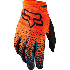 FOX WOMEN DIRTPAW GLOVE [GRY/ORG]