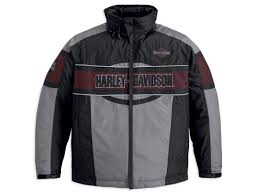 Harley-Davidson jacket-expedition men's coloreblocked