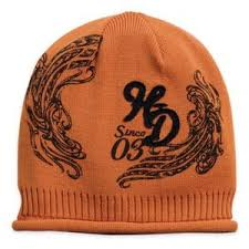 Harley-Davidson cap-knit since 03 september del/women's A/orange
