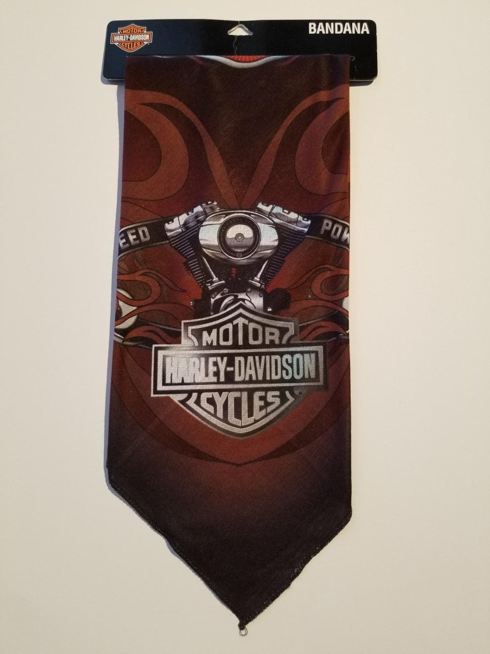 Harley-Davidson bandana speed and power sublimated