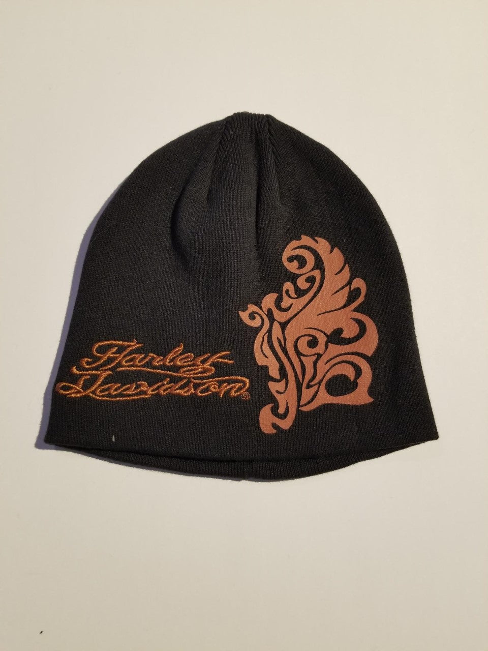 Harley-Davidson cap-knit, HD W/Graphic women's black