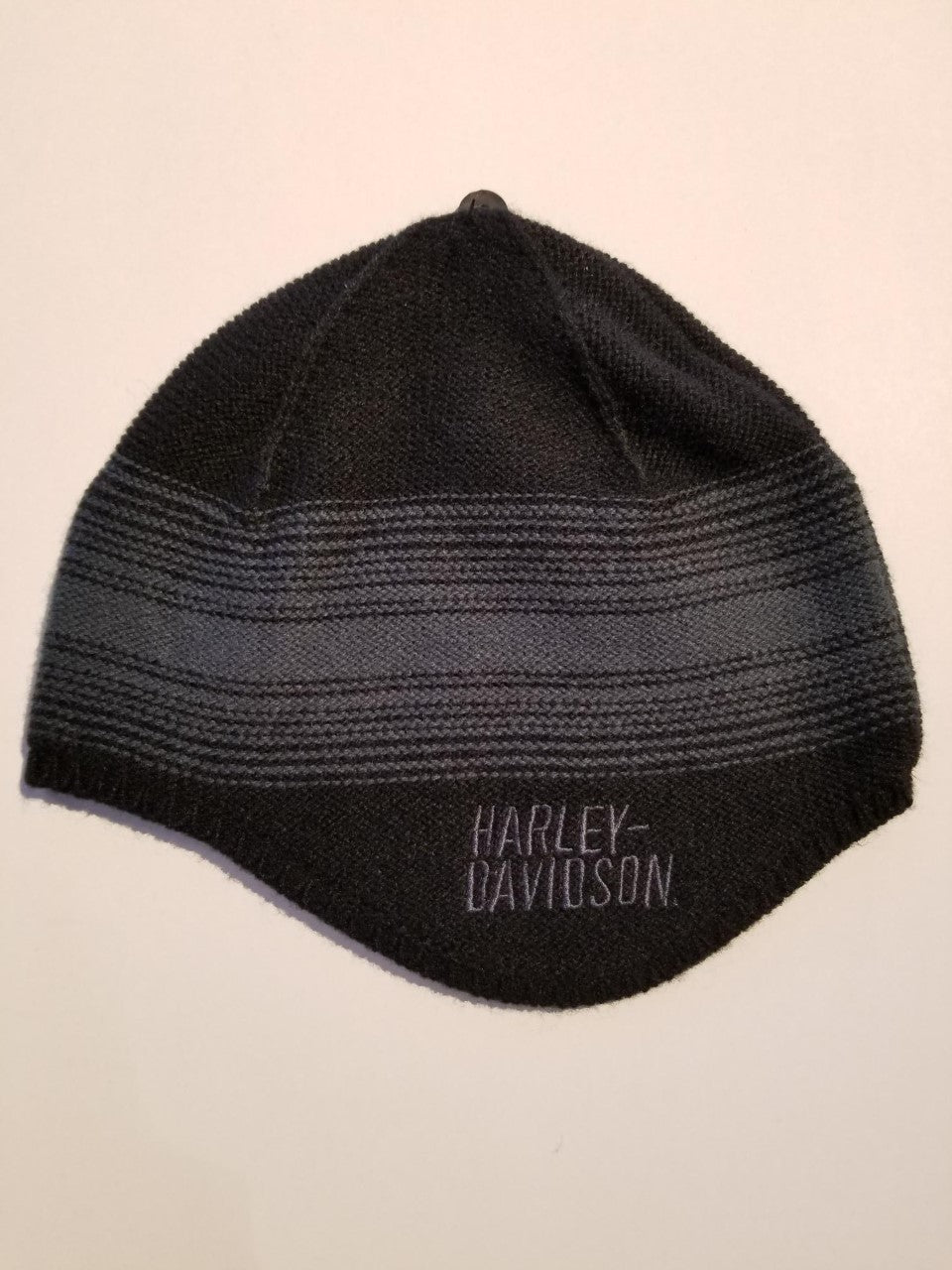 Harley-Davidson hat-knit, fleece lined september del/men's black