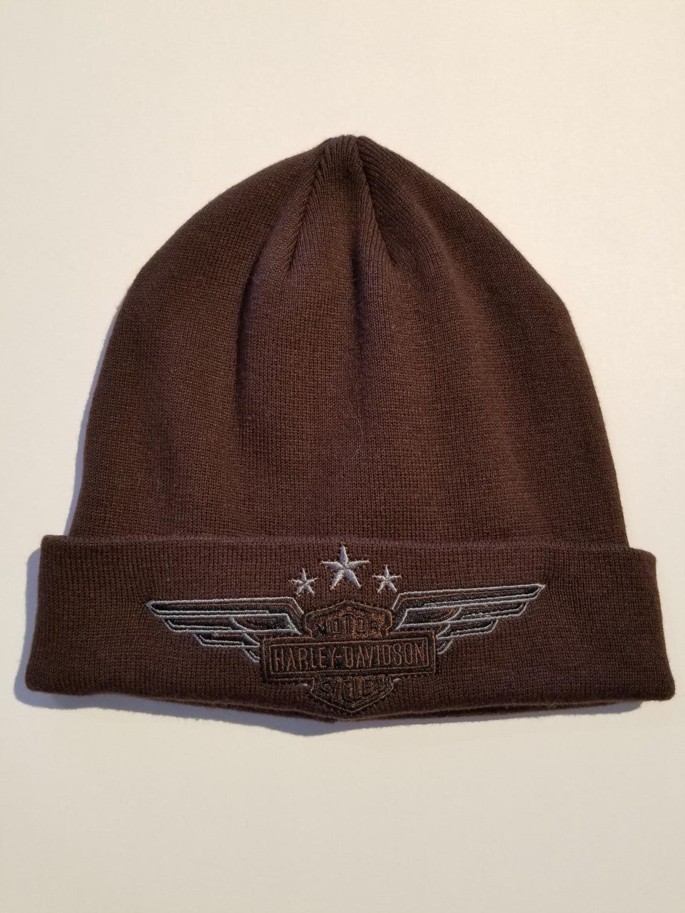 Harley-Davidson hat-knit, cuffed military oct dlv men's, canteen