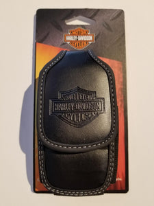 Harley-Davidson heavy duty flap case black
