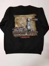 Harley-Davidson eagle circle crew sweat black