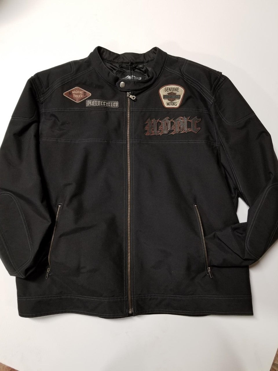 Harley-Davidson jacket-moto men's black