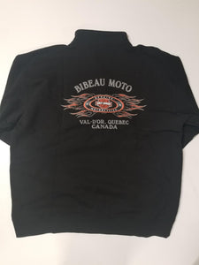 Harley-Davidson ride hot no dooie zip sweat