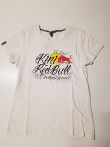 KINI rb gilrs tattoo tee white