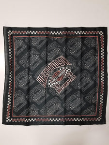 Harley-Davidson  bandana-checkered flags men's black