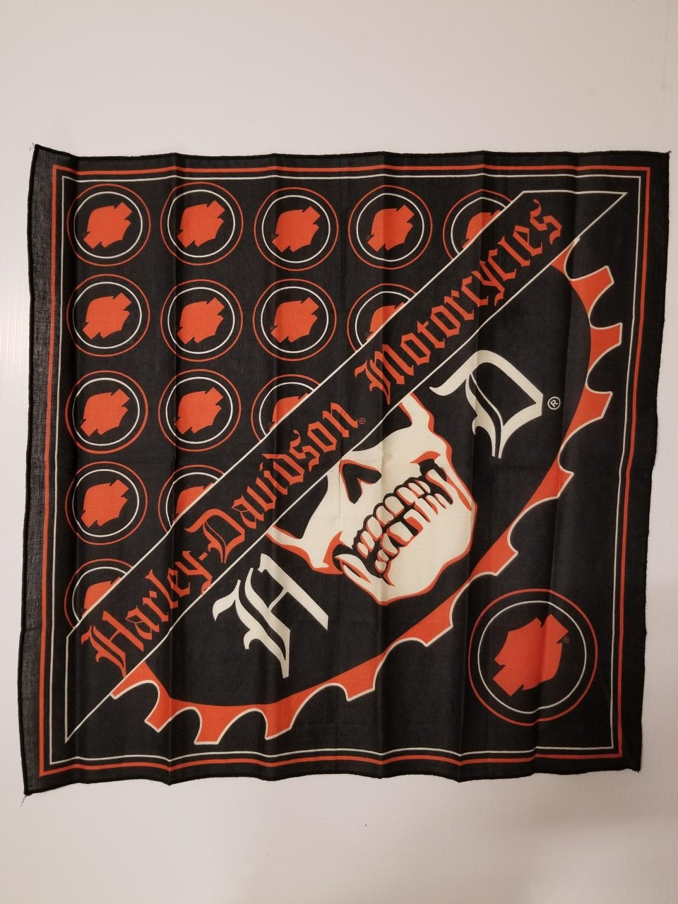 Harley-Davidson bandana feb del/men's black