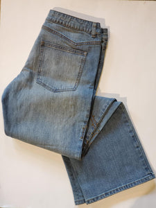 "Harley-Davidson studded jean women's, blue denim 30"" inseam"