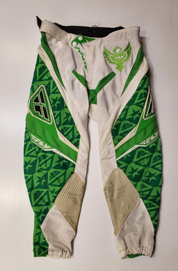 FLY kinetic pants green/white
