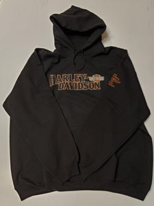 Harley-Davidson power takeoff LS hooded pullover