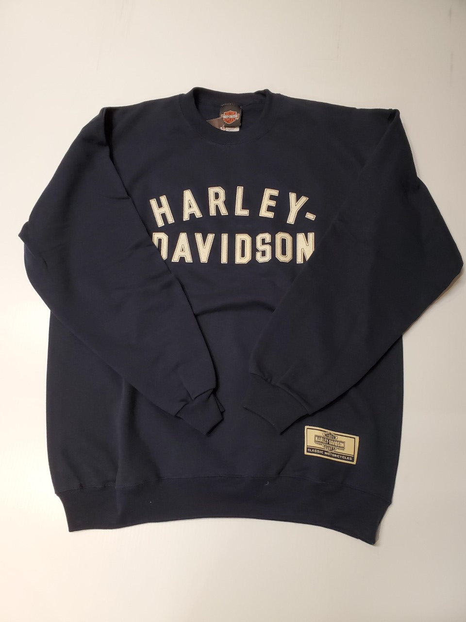 Harley-Davidson run out LS crew neck pullover