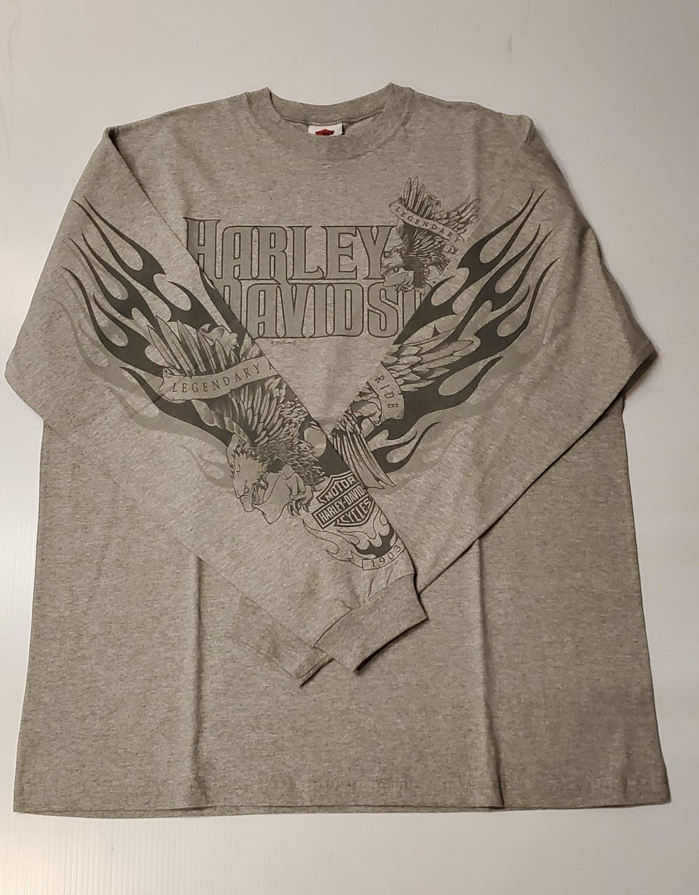 Harley-Davidson fly tone L/S tee