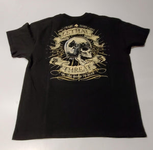 Lethal Threat tee road to ruin blk