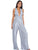 Annabel Grey Multiway Criss Cross Silk Jumpsuit