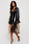 Oracle Transparent Belted Midi Coat with Satin Sleeves (Pre-Order)