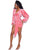 Forever Yours Long Sleeves Wrap Drape Dress