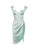 Gianna Mint Satin Corset Dress - Restocked