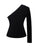 Monae One Sleeve Black Blazer Jacket