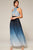 Audrey Blue Ombre Halter Pleated Maxi Dress, Latiste, L'atiste, Betty Glam Boutique, Summer Fashion 2019 Trends, Canadian Fashion, Los Angeles Fashion