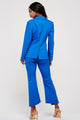 Emilia Royal Blue Blazer Pants Set