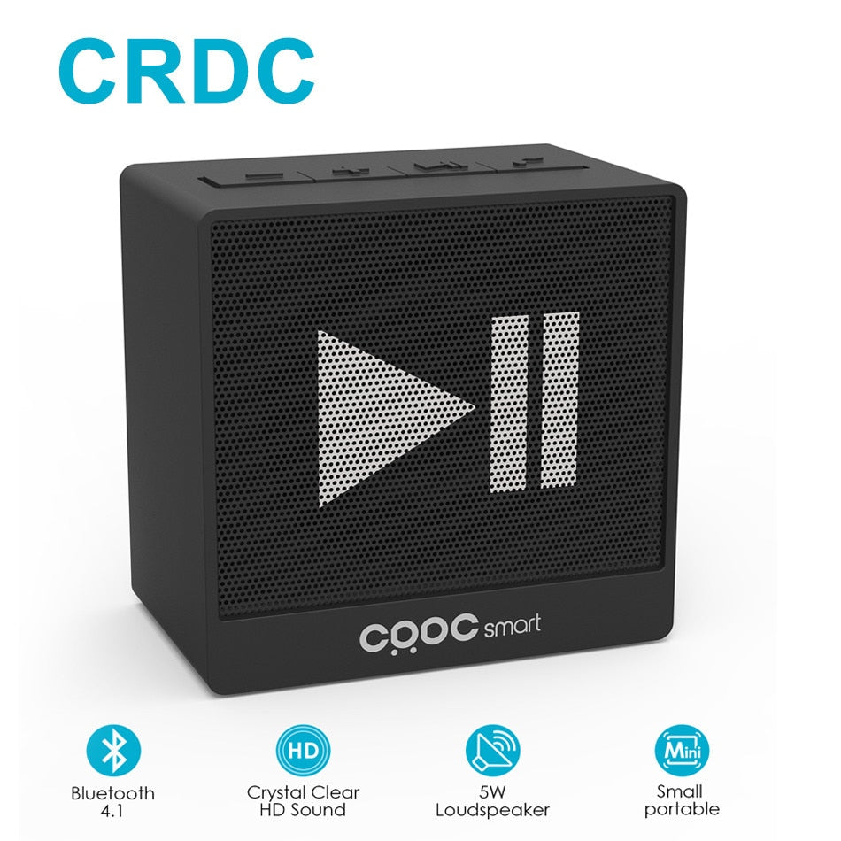 CRDC Mini Powerful Bluetooth Speaker - Dazam
