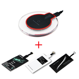 dazam - Ultra Slim Wireless Fast Charger